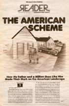 read The American Scheme